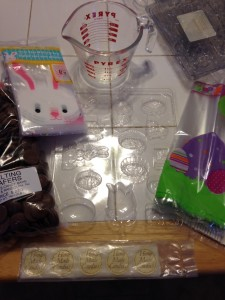 Melts, bunny bags-ready to go!